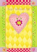 Valentine's Day Card-Colourful Heart Valentine